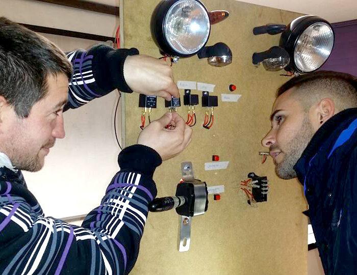 panel de electromecánica